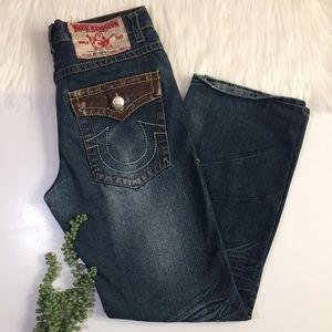 True Religion Joey Super T Jeans   Size 34